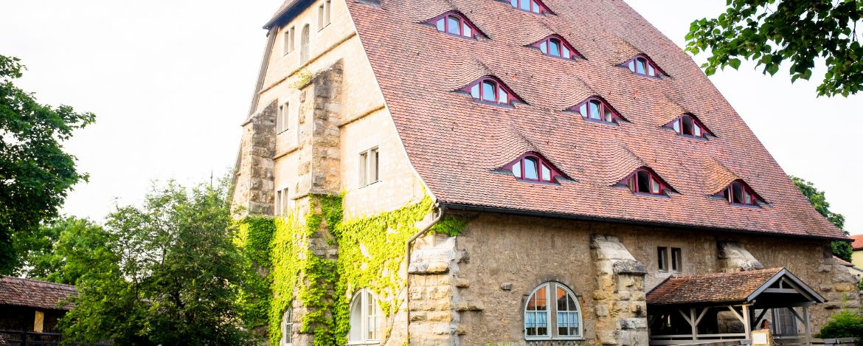 Die historische Jugendherberge Rothenburg