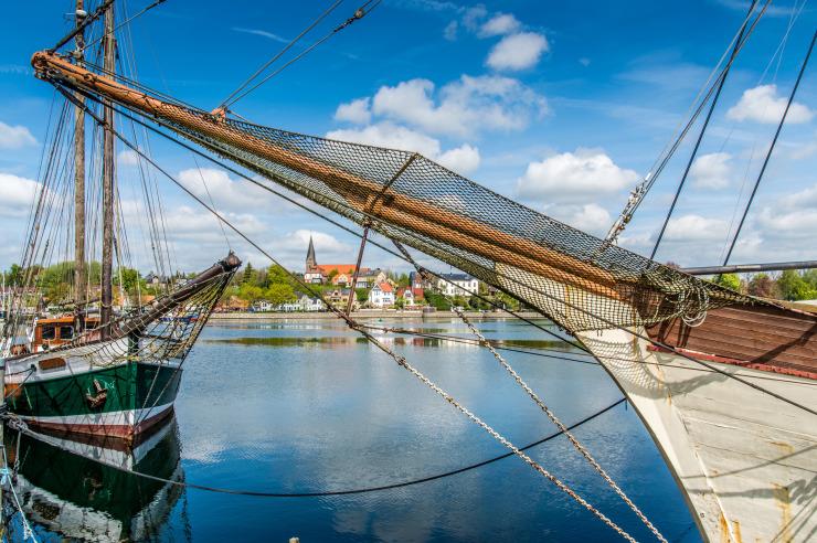 Hafen des Ostseebades Eckernförde