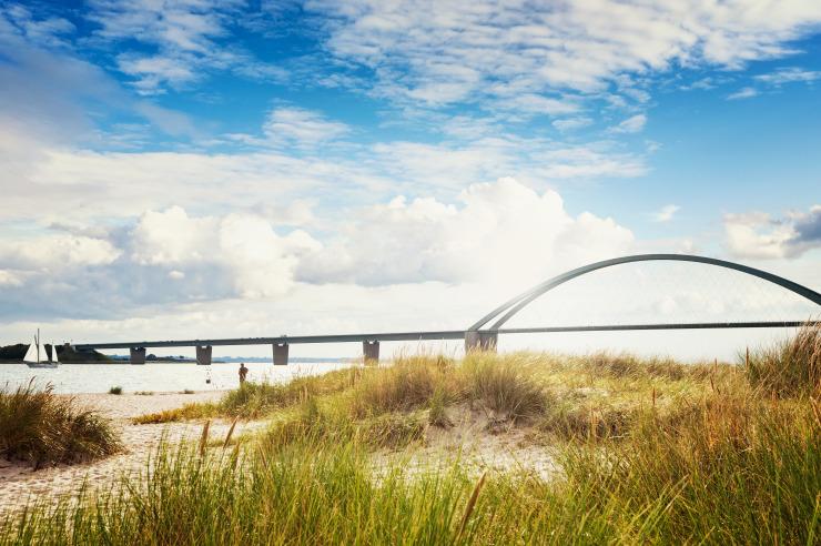 Fehmarnsundbrücke zur Insel Fehmarn