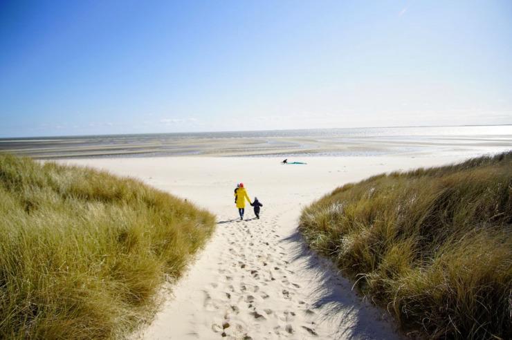 Strand der Jugendherberge Hörnum auf Sylt
