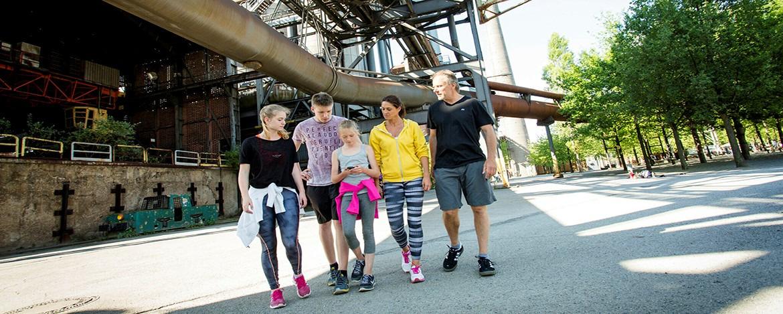 Familienurlaub Duisburg Landschaftspark