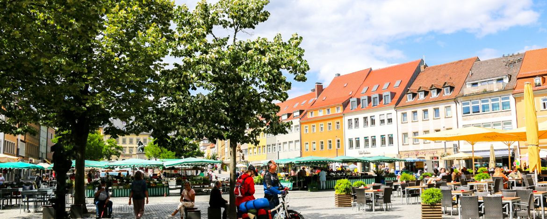 Die Altstadt von Schweinfurt