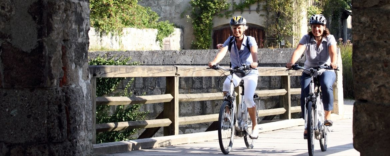 Radfahrer sind herzlich willkommen