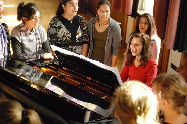 Gesang mit der Musicalschule Sonatini