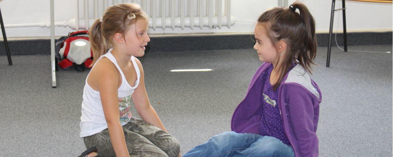 Theaterprobe in der Jugendherberge