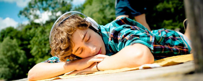 Einfach mal chillen, Musik hören und die Campwoche genießen
