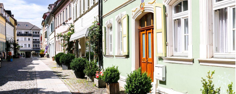 Die wunderschöne Altstadt von Schweinfurt