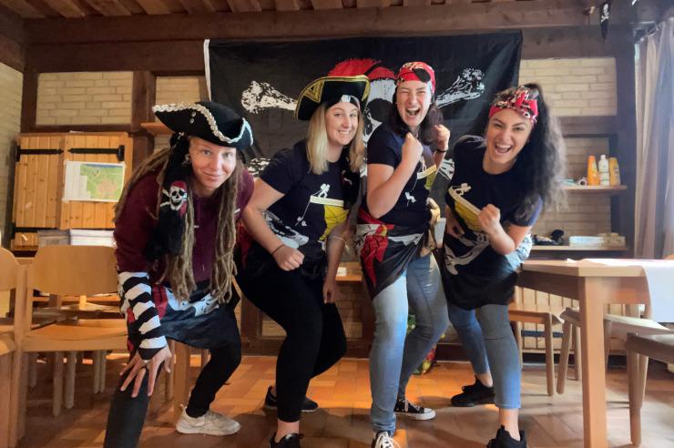 Piratenfreizeit der Jugendherberge Otterndorf