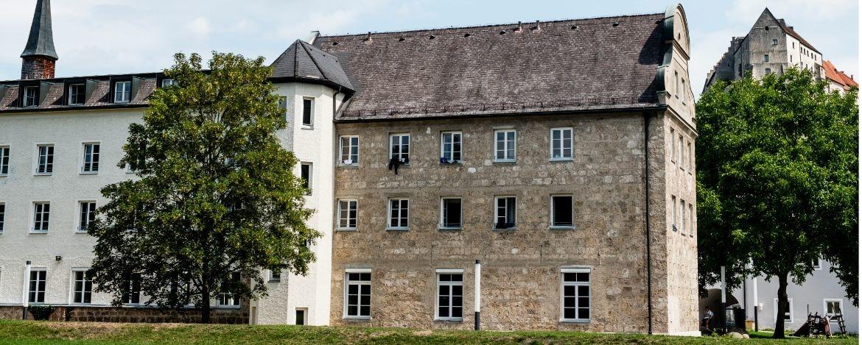 Die Jugendherberge im ehemaligen Kapuzinerkloster - alles sehr modern