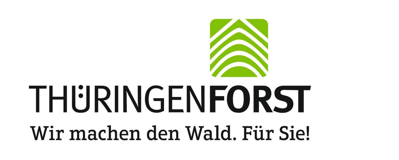 Forst-Logo - mW - Slogan schwarz