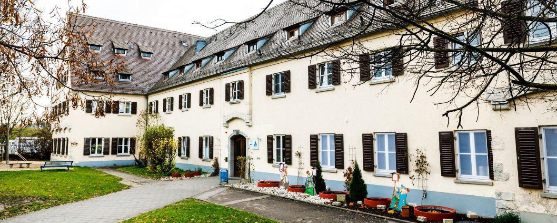 Aussenansicht von der Jugendherberge Regensburg