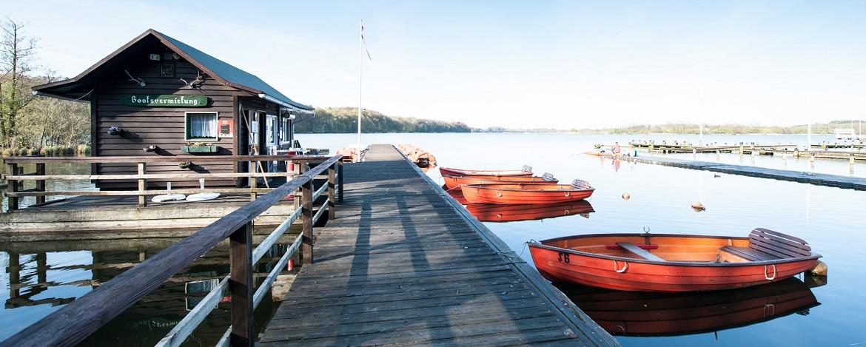 See hinter der Jugendherberge Bad Segeberg