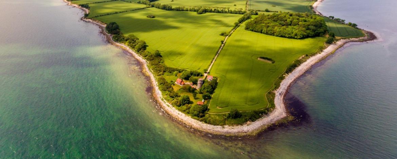 Luftbild Insel Fehmarn