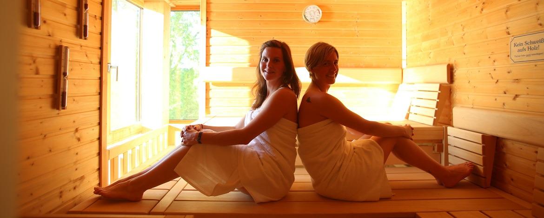 Sauna zum Entspannen für die Großen
