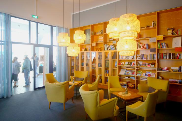 Moderne Räume der Jugendherberge Lauenburg Zündholzfabrik