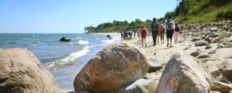 Ostseestrand vor der Jugendherberge Dahme