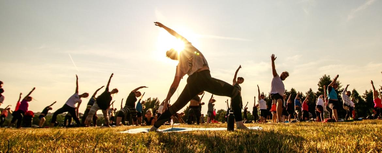 Yogaübungen in Niebüll