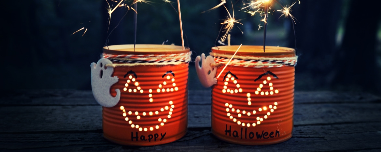 Halloween-Laternen