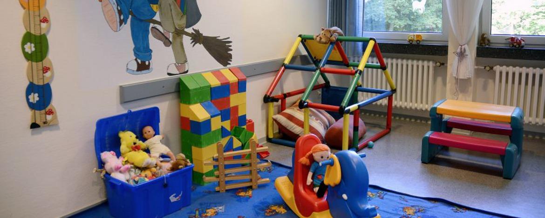 Spielzimmer der Jugendherberge Montabaur