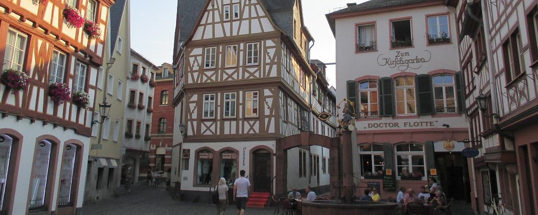 Kirschgarten in der Mainzer Altstadt