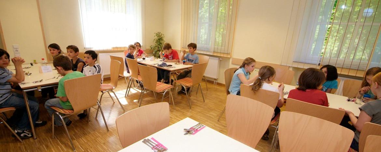 Speiseraum der Jugendherberge Altenahr