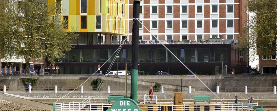 """Porträt Bremen - Gästeschiff """"Die Weser"""""""