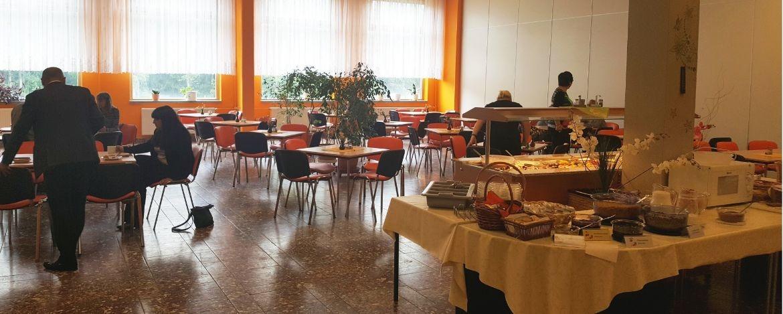 Unser Frühstücksbuffet im Speiseraum
