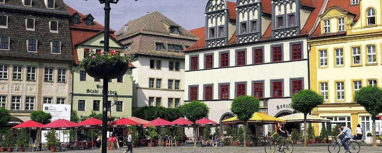Der Markt in Naumburg