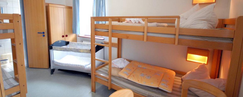 Zimmer der Jugendherberge Idar-Oberstein