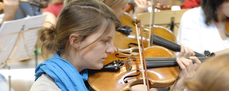 Musikprobe in der Jugendherberge Idar-Oberstein