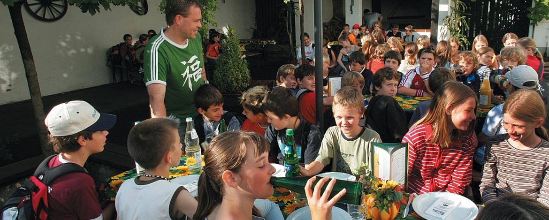 Kindergeburtstage feiern in der Jugendherberge Idar-Oberstein