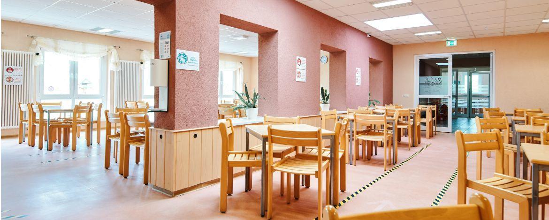 Cafeteria der Jugendherberge Kelbra