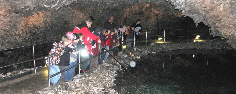 Entdeckungstour in der Barbarossahöhle