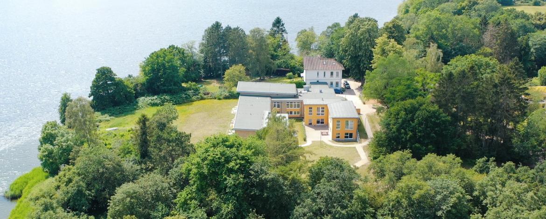 Luftbild der Jugendherberge Bad Malente