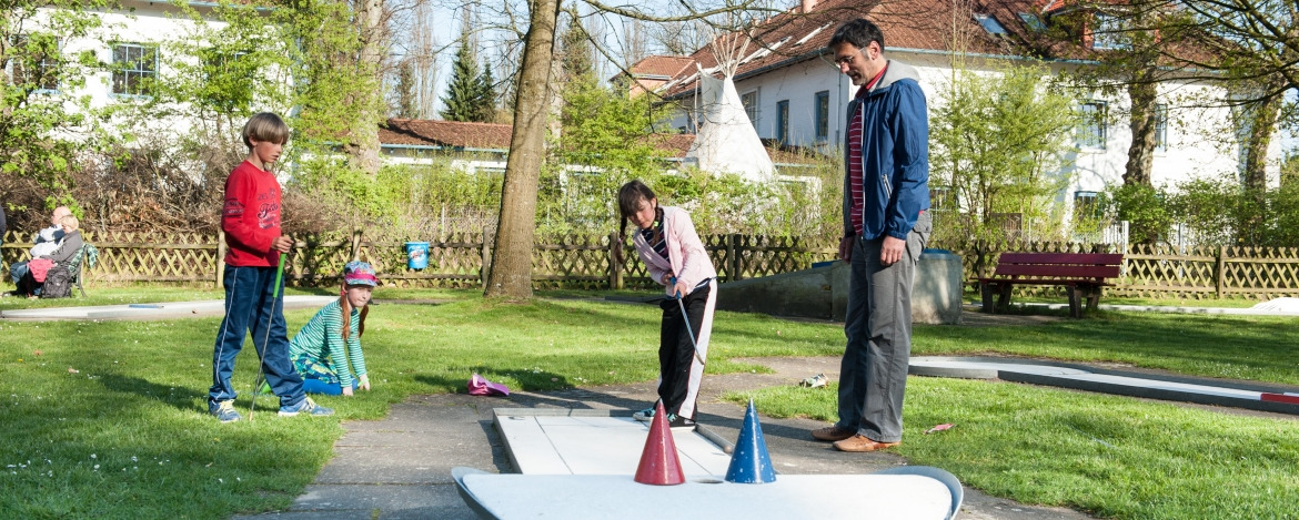 Minigolf in Bad Segeberg