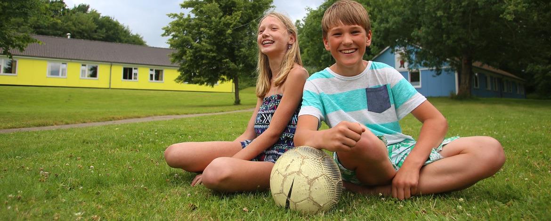 Großes Spielgelände - ideal für Klassenfahrten