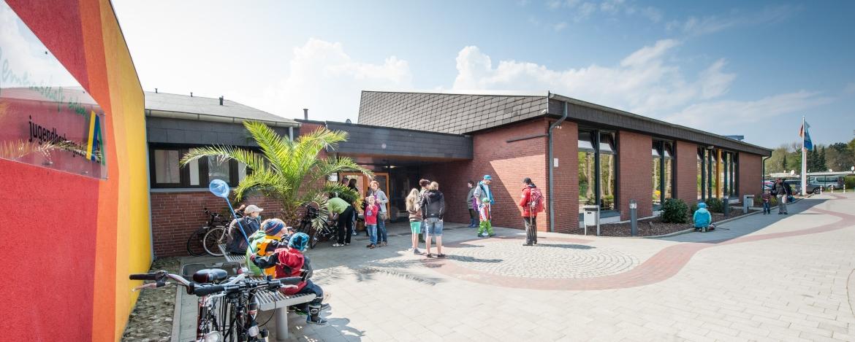 Hausaufnahme Jugendherberge Cuxhaven