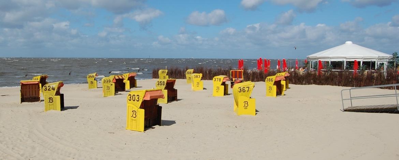 Nordseestrabd in Cuxhaven