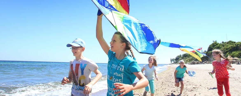 Klassenfahrt an den Strand