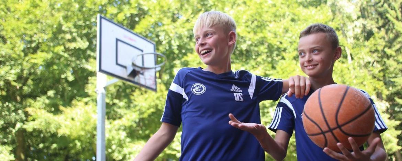 Basketballkorb Jugendherberge Flensburg