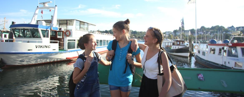 Hafenrundfahrt auf der Flenburger Förde
