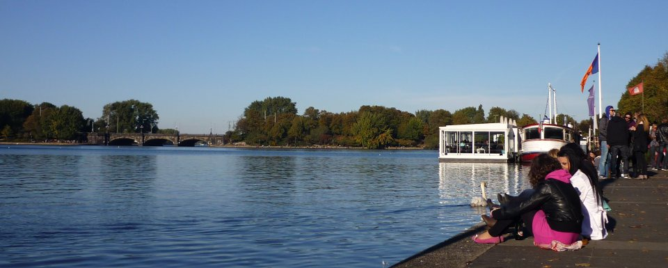 Familienurlaub Hamburg - Auf dem Stintfang