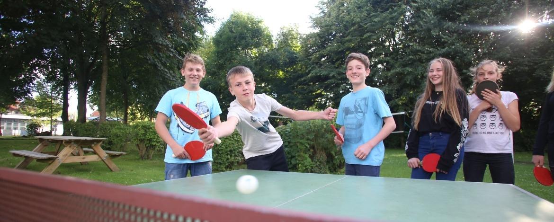 Tischtennisplatte Jugendherberge Heide