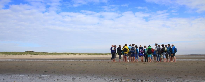 Wattwanderung an der nahen Nordseeküste