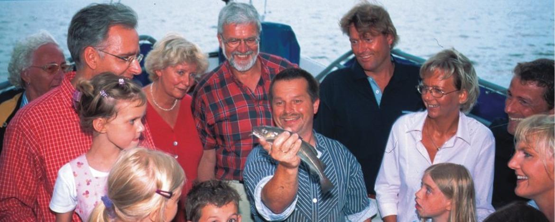 Seetierfang als Programm der Jugendherberge Heide