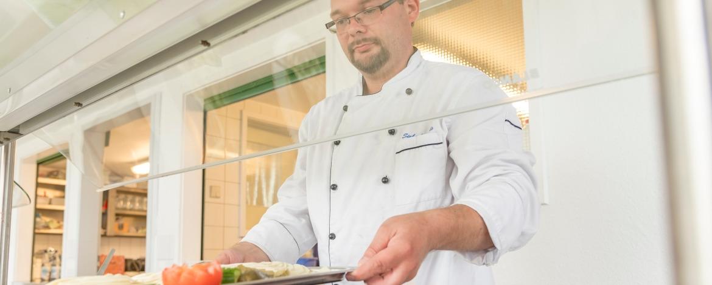 Koch der Jugendherberge Helgoland