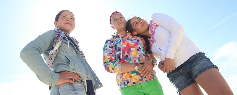 Schulklasse in der Jugendherberge Hörnum auf Sylt