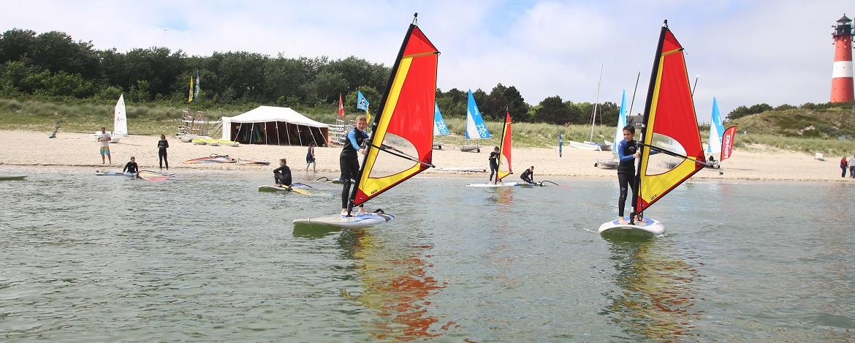 Surfkurs der Jugendherberge Hörnum auf Sylt