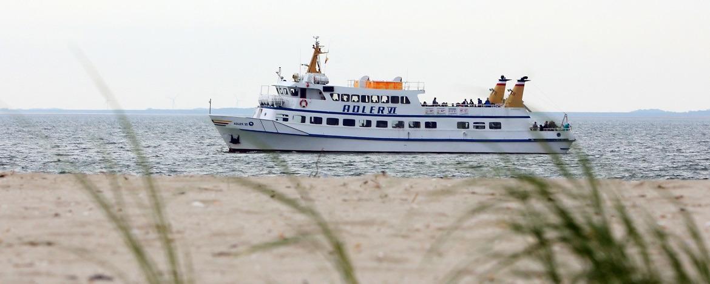 Schiff vor Sylt