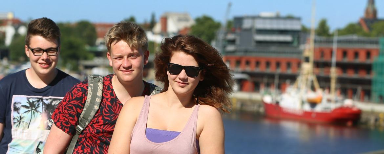 Klassenfahrten Lübeck - Vor dem Burgtor